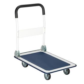 Zimtown 330 Lb Capacity Hand Truck Dolly Wayfair