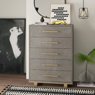 Dahle 5 Drawer Chest by Mercury Row