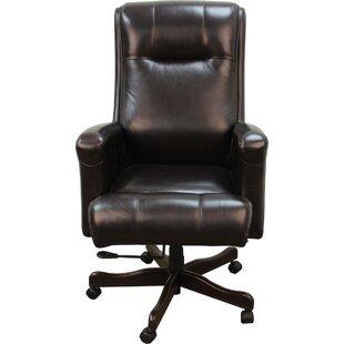 Baughman Genuine Leather Executive Chair