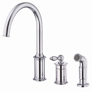 Danze® Prince Touchless Single Handle Kitchen Faucet with Side Spray