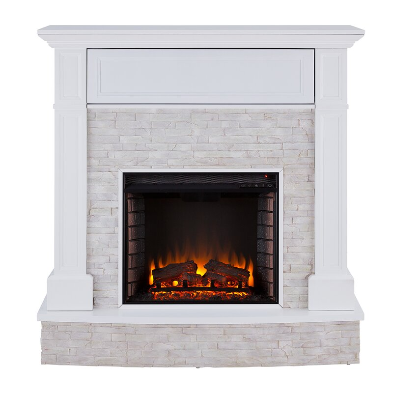 Shanley Electric Fireplace by Darby Home Co