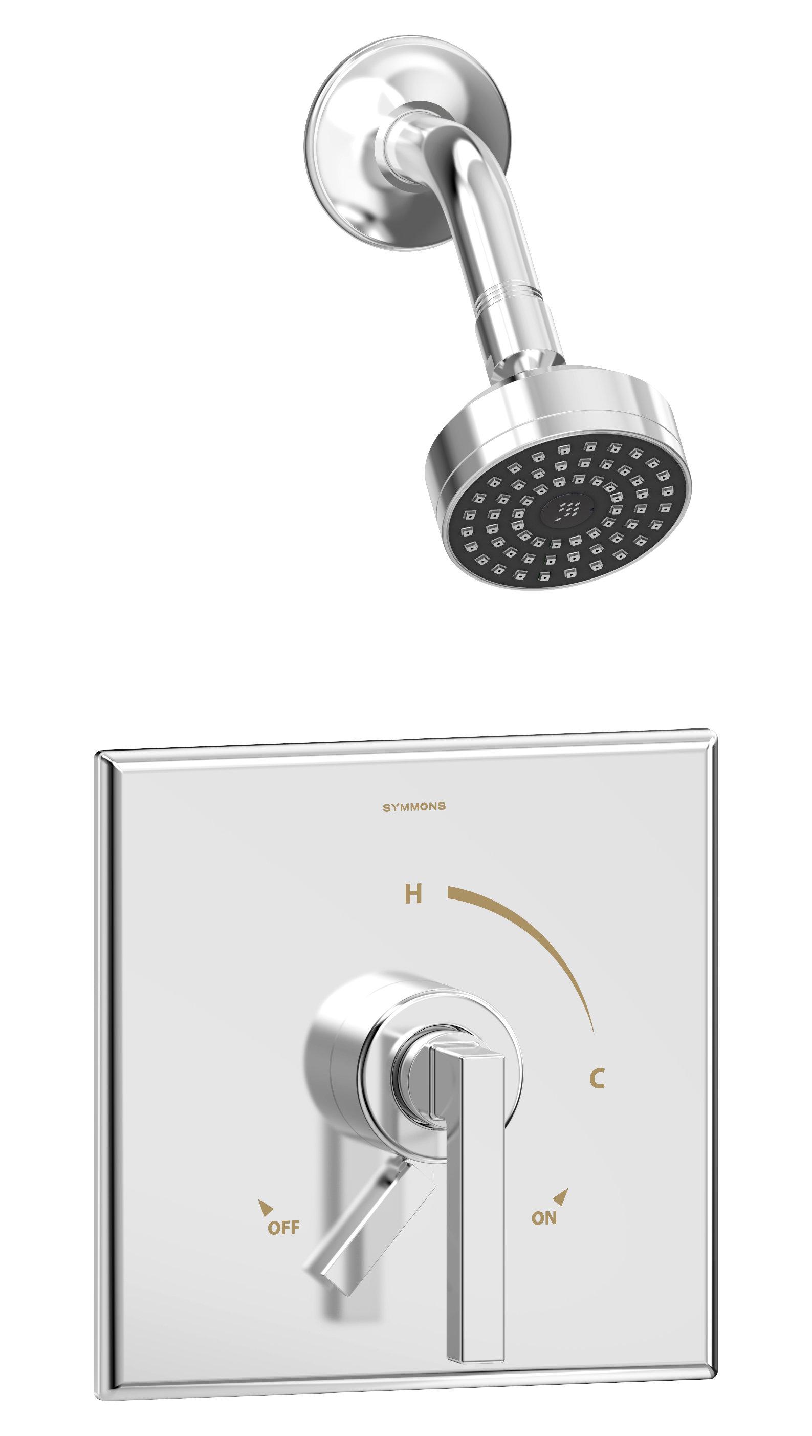 Duro Diverter Shower Faucet With Trim