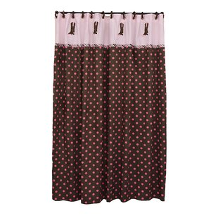 Christi Polyester Single Shower Curtain