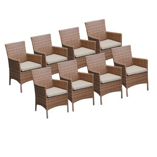 Laguna Patio Dining Chair with Cushion (Set of 8)