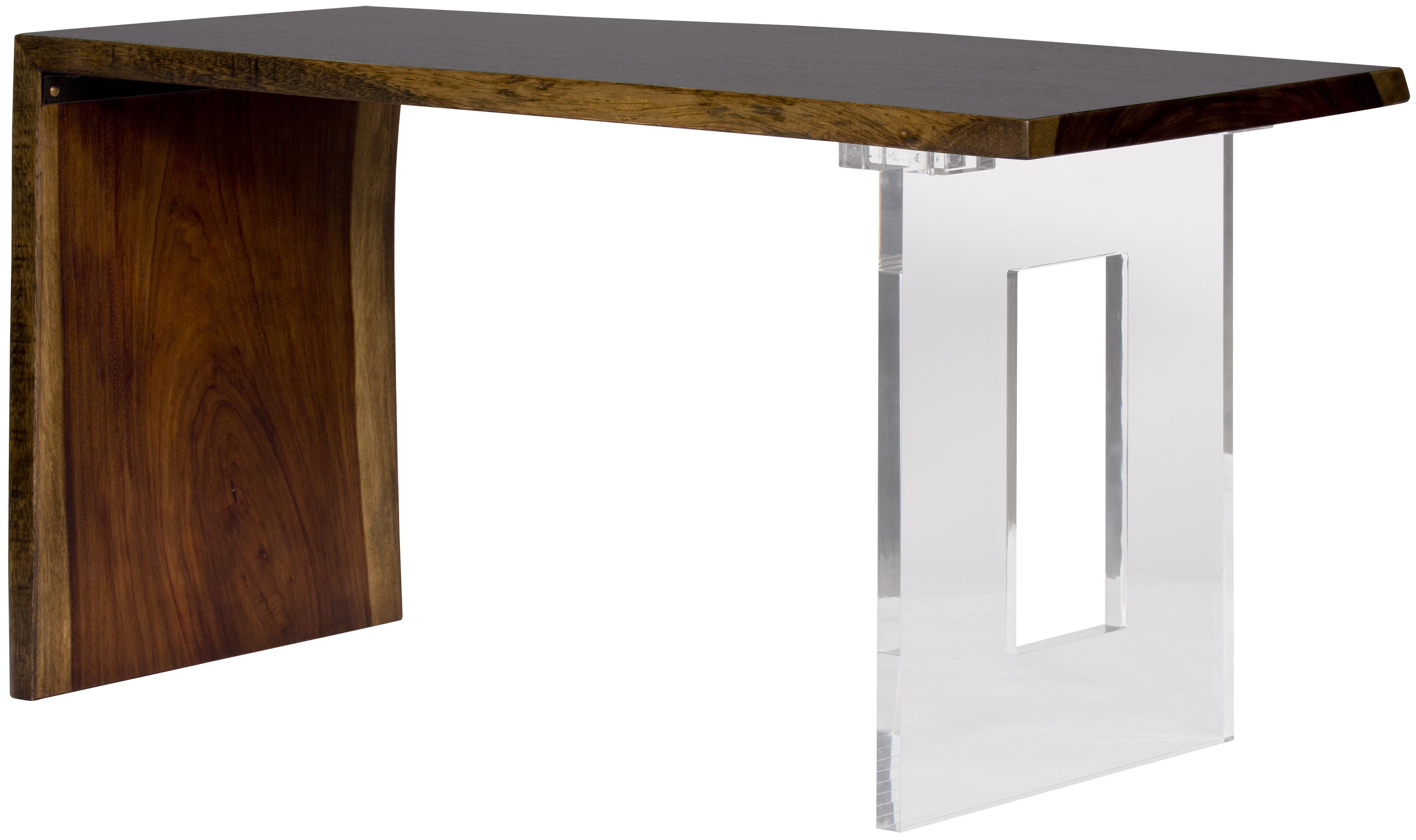 live edge waterfall reversible desk