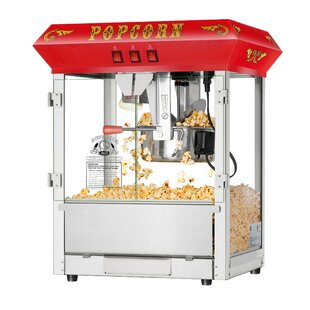 8 Oz. Hot and Fresh Countertop Popcorn Popper Machine