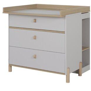 Review Ridley 3 Drawer Dresser