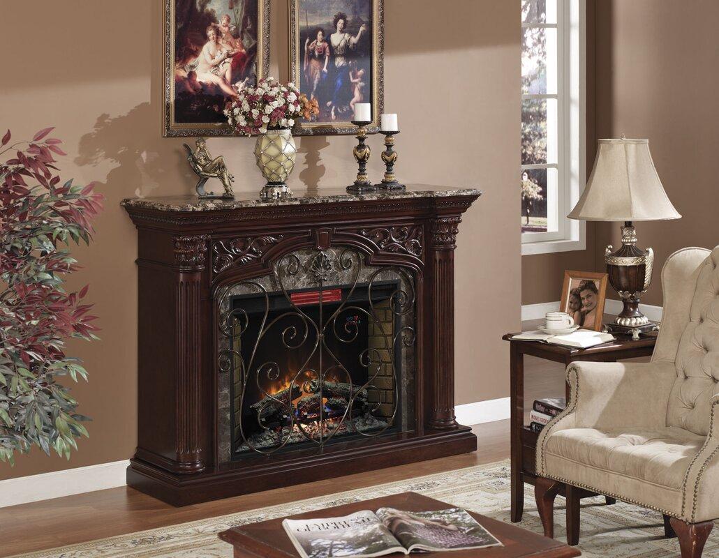 Classic Flame Astoria Electric Fireplace Mantel Surround  Reviews - Mantel electric fireplace