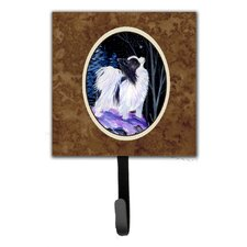 Starry Night Papillon Leash Holder and Wall Hook by Caroline's Treasures