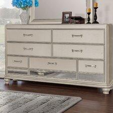 Bedroom 7 Drawer Standard Dresser by BestMasterFurniture