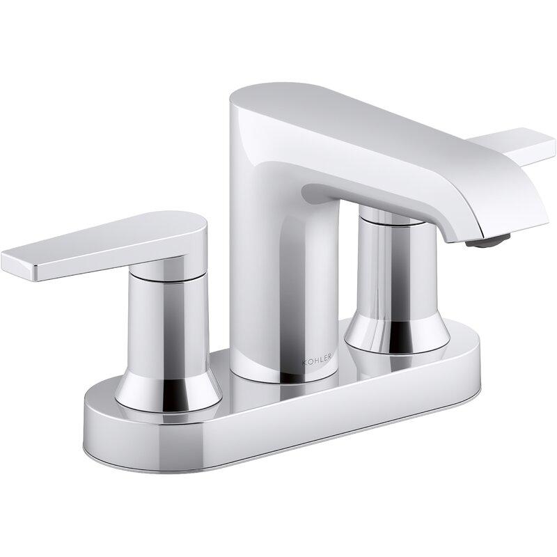 Kohler Hint Centerset Bathroom Sink Faucet Reviews Wayfair