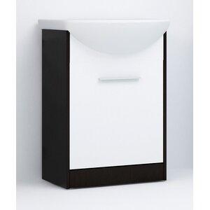52 cm Waschbeckenunterschrank Slim von dCor des..