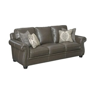 Price comparison Mariela Leather Sofa by Darby Home Co Reviews (2019) & Buyer's Guide
