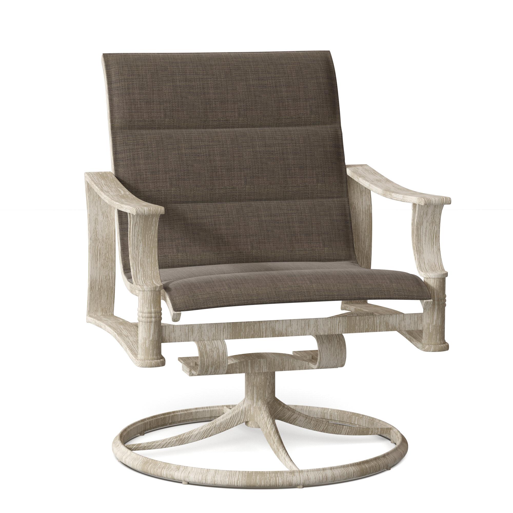 Woodard Arkadia Swivel Rocking Chair Wayfair