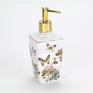 Affordable Butterfly Garden Soap & Lotion Dispenser ByAvanti Linens