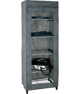 Dollond 60cm Wide Wardrobe By House Additions