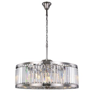 Dorinda 10-Light Crystal Chandelier