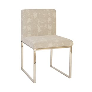 Frozen Upholstered Dining Chair