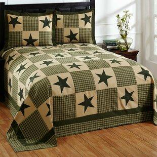 Forest Green Bedspread Wayfair