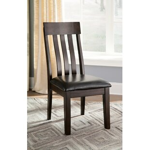 Bartons Bluff Upholstered Dining Chair (Set of 2) Red Barrel Studio