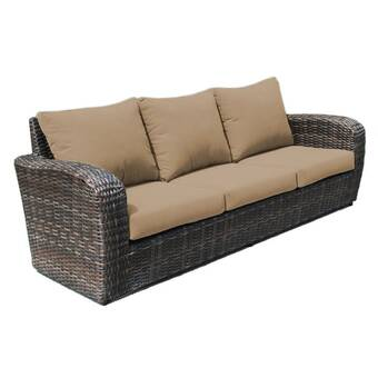 Braxton Culler Brighton Pointe Patio Sofa With Cushions Wayfair