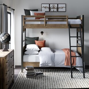 Strasburg Twin over Twin Bunk Bed by Greyleigh