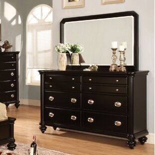 Three Posts Garrick 8 Drawer Double Dresser