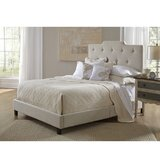 Hibbs Queen Upholstered Standard Bed by Charlton Home®