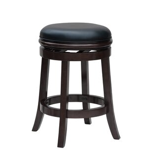 Westerberg 24 Swivel Bar Stool Charlton Home