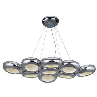 Brzozowski 9-Light Kitchen Island Pendant by Orren Ellis