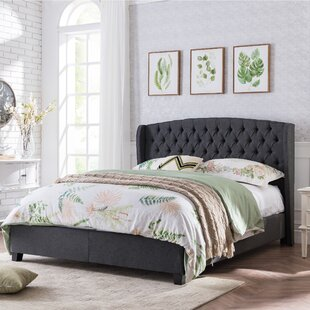 Odysseus Queen Upholstered Panel Bed by Alcott Hill
