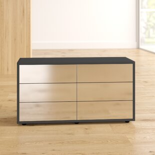 Check Price Woosley 6 Drawer Chest