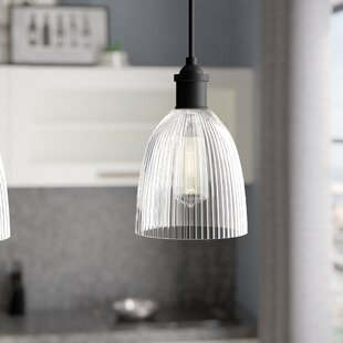 Shop for Elvie 1-Light Bell Pendant By Williston Forge