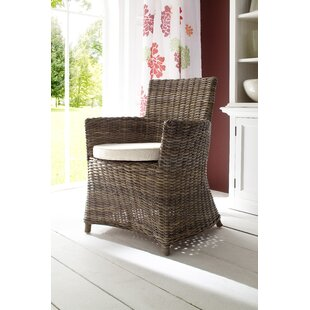 Beachcrest Home Camryn Patio Dining Chair with Cushion (Set of 2)