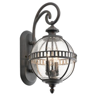 Churchton 2-Light Outdoor Wall Lantern