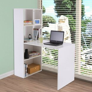 Fedor 2 Piece L-shaped Desk Office Suite by Ebern Designs
