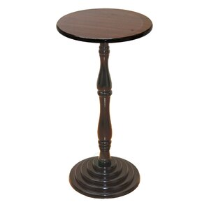 Round Foyer Tables round pedestal foyer table | wayfair