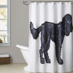 Huddleston Labradoodle Single Shower Curtain