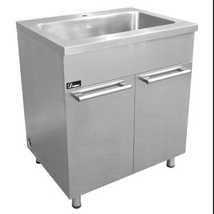 30 Stainless Steel Vanity Base