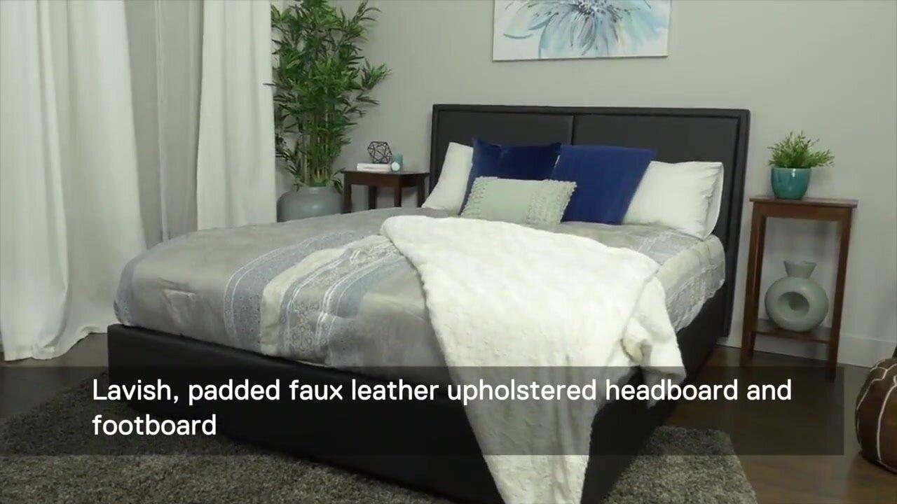 Alvin Upholstered Platform Bed