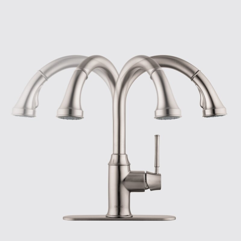 Talis C Pull Down Single Handle Kitchen Faucet
