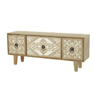 Thurleigh 3 Drawer Chest By World Menagerie