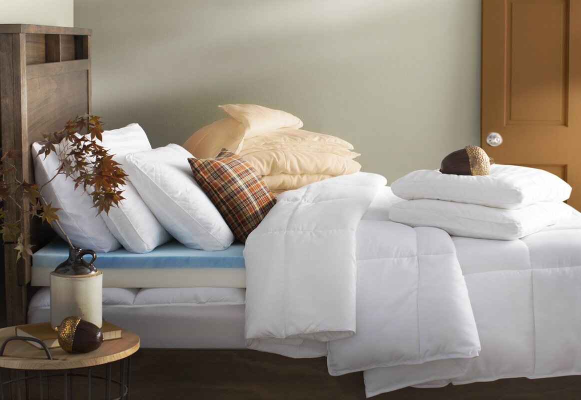Alwyn Home All Season Down Alternative Comforter & Reviews | Wayfair