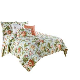 Laurel Springs Opal 100% Cotton Reversible Quilt Set