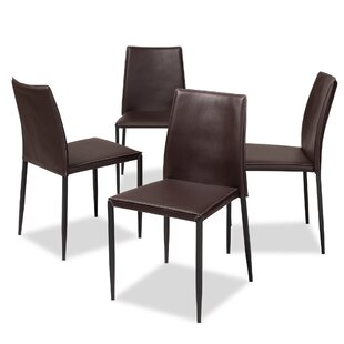 Orren Ellis Leistner Upholstered Dining Chair (Set of 4)
