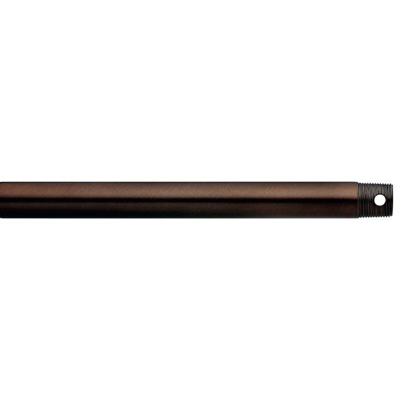 Polished Nickel Kichler 360001PN Accessory Fan Down Rod 18-Inch