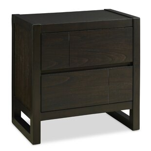 Brayden Studio Ludlow 2 Drawer Nightstand