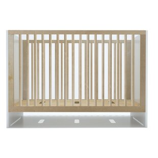 Reviews Oliv 2-in-1 Convertible Crib BySpot On Square