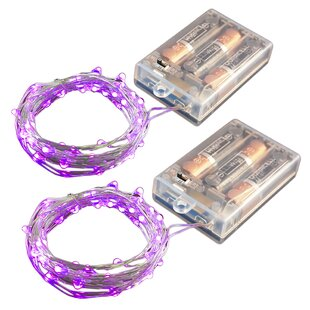 Phelps 17 ft. 50-Light Fairy String Light (Set of 2)