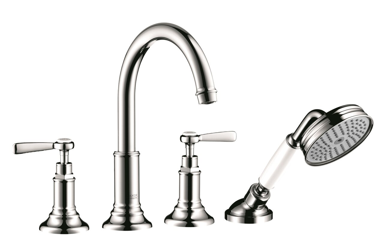 Axor Axor Montreux Two Handle Deck Mounted Roman Tub Faucet with ...